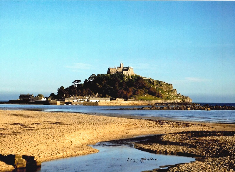 Visit the iconic St Michael's Mount, part of the Cornish Celtic Way.